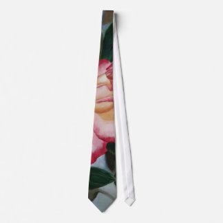 Lazo de ruborización del rosa del placer corbata