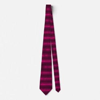 Lazo de seda de lujo rosado del poder de Wraithe Corbatas Personalizadas