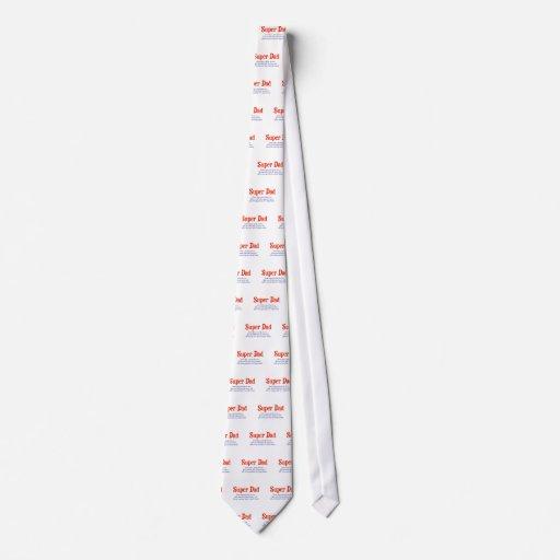 Lazo de Superdad Corbatas Personalizadas