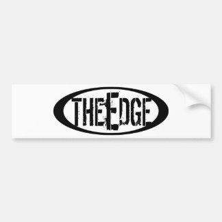 LAZO de The Edge Etiqueta De Parachoque