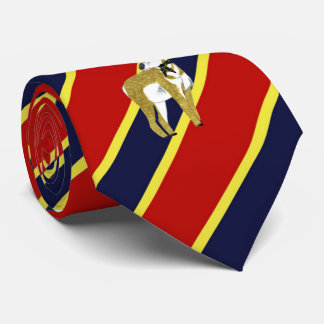 Lazo de vestido rayado del antílope de madera de corbatas personalizadas