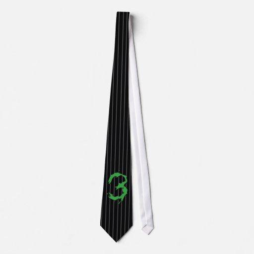 Lazo del #3 del sapo corbata personalizada