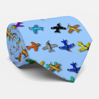 Lazo del aeroplano del juguete corbata personalizada