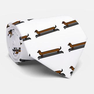 Lazo del amante del perro para los hombres corbata