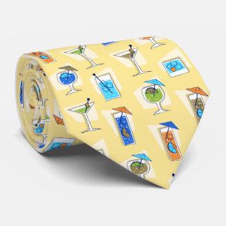 Lazo del amarillo del cóctel de los años 50 de la corbatas