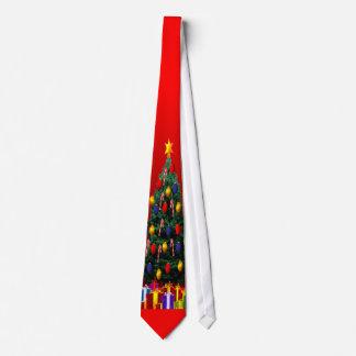 Lazo del árbol de navidad corbatas personalizadas