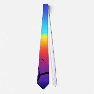 Lazo del arco iris corbata