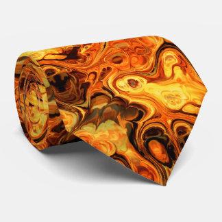 Lazo del arte 10 del fractal del fuego corbatas
