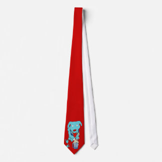 Lazo del arte pop del perro del bobalicón corbatas personalizadas