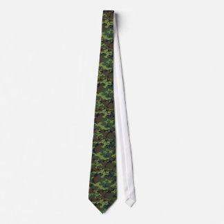 Lazo del camuflaje del arbolado corbatas personalizadas
