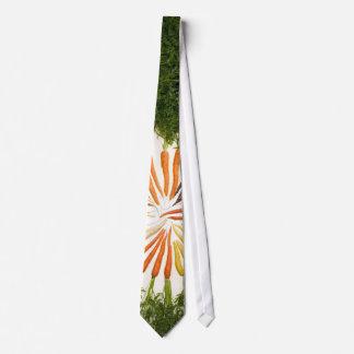 Lazo del centro de la zanahoria corbatas