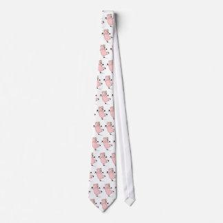 Lazo del cerdo del baile corbatas personalizadas