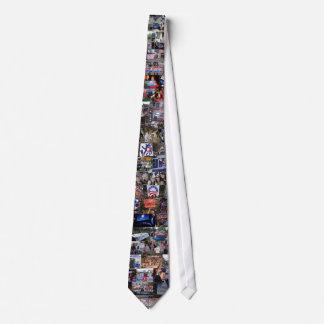 Lazo del collage de Obama Corbatas