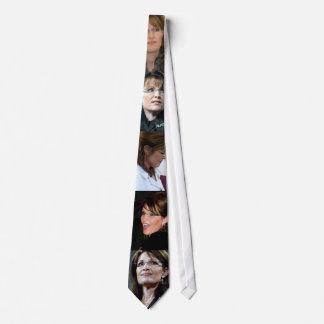 Lazo del collage de Sarah Palin Corbatas