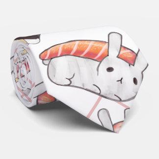 Lazo del conejito del sushi corbatas