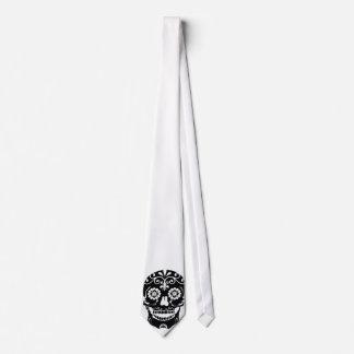 Lazo del cráneo del azúcar corbata personalizada