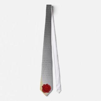Lazo del día de padre del vintage corbata