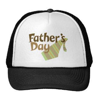Lazo del día de padre gorras