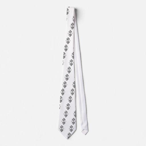 Lazo del diamante corbatas personalizadas