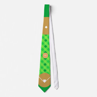 Lazo del diamante de béisbol corbatas personalizadas