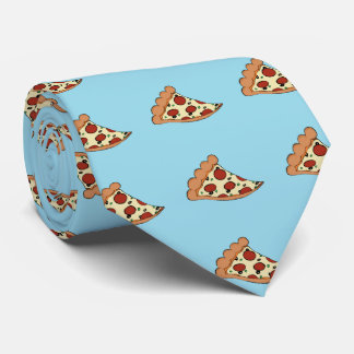 Lazo del diseño de la pizza corbata personalizada