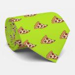 Lazo del diseño de la rebanada de la pizza corbata