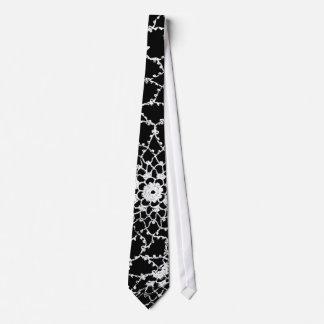 Lazo del diseño del cordón de Tatted Corbata Personalizada