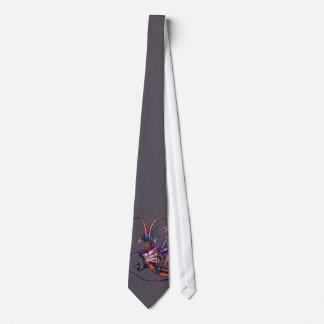 Lazo del dragón del monarca corbata personalizada