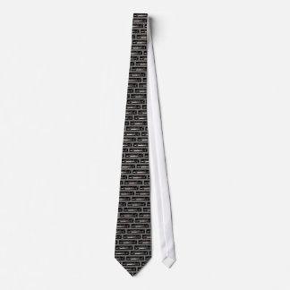 Lazo del esturión blanco corbatas personalizadas