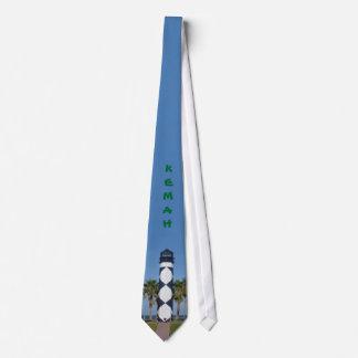 Lazo del faro de Kemah Corbatas Personalizadas