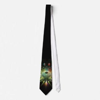 Lazo del fractal de la mística corbata