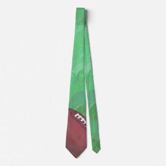 Lazo del fútbol corbata personalizada