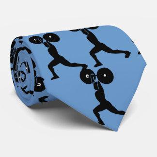 Lazo del gimnasio del levantamiento de pesas corbata