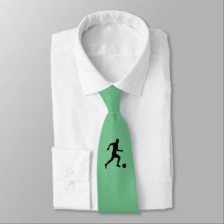 Lazo del jugador de fútbol corbata