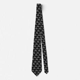 Lazo del lazo blanco corbata