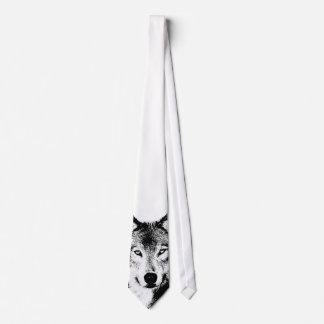 Lazo del lobo corbata personalizada
