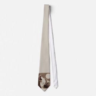 Lazo del lobo del grito corbatas personalizadas