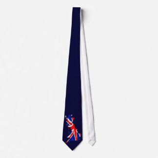 Lazo del mapa de la bandera de Inglaterra Corbatas Personalizadas