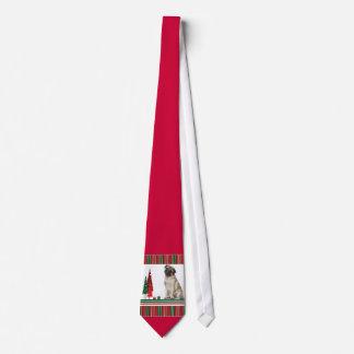 Lazo del navidad del barro amasado corbata personalizada
