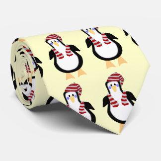 Lazo del navidad del pingüino de Peter Corbata Personalizada