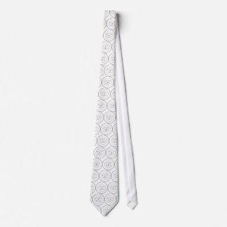 Lazo del notario público corbata
