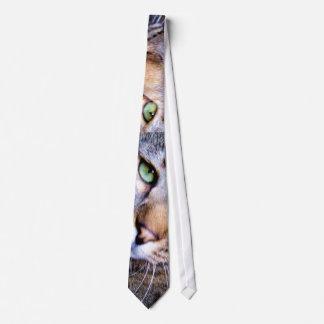 lazo del ojo de gato corbata personalizada