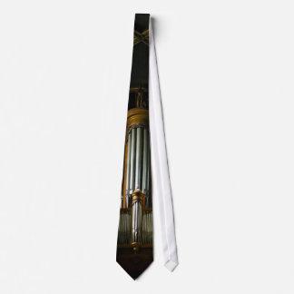 Lazo del órgano corbatas personalizadas