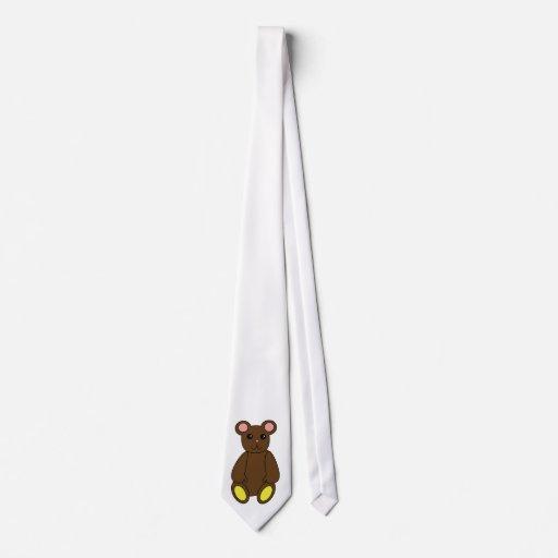 Lazo del oso de Brown Corbata Personalizada