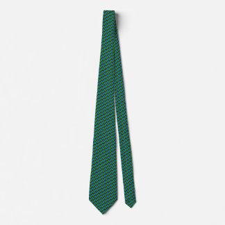 Lazo del panal de la bandera de Tanzania Corbatas Personalizadas