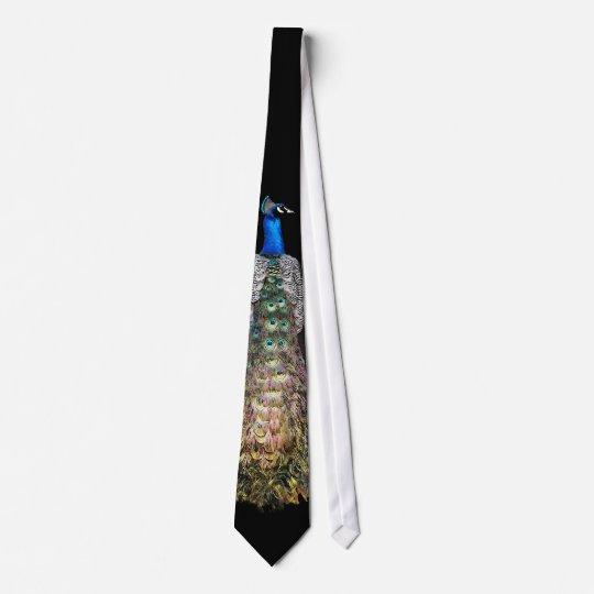 Lazo del pavo real corbatas personalizadas