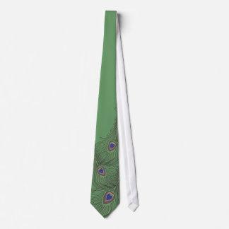 Lazo del pavo real de 3 plumas para los bodas corbatas personalizadas