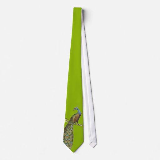 Lazo del pavo real para los bodas y las ocasiones corbatas