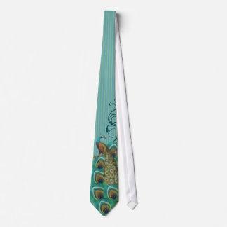 Lazo del pavo real para los bodas y las ocasiones corbata personalizada