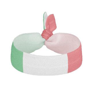 """Lazo del pelo de los """"colores italianos"""" elástico para el pelo"""